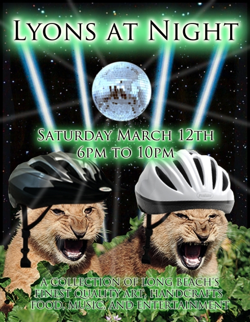 Lyons at Night - BMX Style